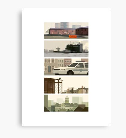 The Wire  Canvas Print