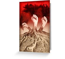 The Tree of Power Greeting Card