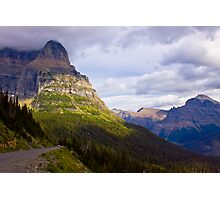 Dramatic Montana Mountains Photographic Print
