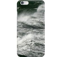 The Power of water and wind iPhone Case/Skin