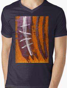 spine Mens V-Neck T-Shirt