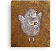 Little friend Canvas Print