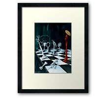 Science-Chess Accommodating Religion Framed Print