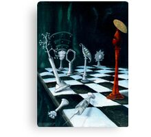 Science-Chess Accommodating Religion Canvas Print