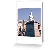Trafalgar Square, London, capital city of England Greeting Card