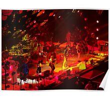 Arcade Fire Concert photography Reflektor tour 2014 Poster