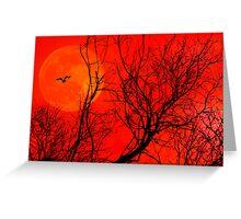 Tangerine Dream. Greeting Card