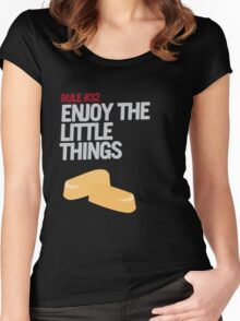 Rule #32: Enjoy the Little Things Women's Fitted Scoop T-Shirt