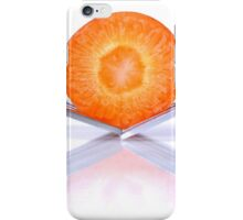 carrot on forks iPhone Case/Skin
