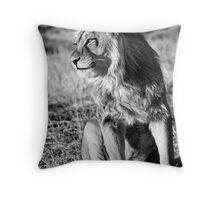 Panthera Leo Throw Pillow