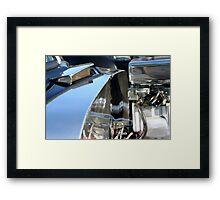Engine Chrome Framed Print