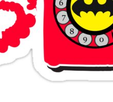 Bat Phone Sticker