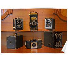 Old Brownie Cameras Poster