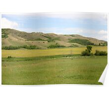 Qu'Appelle Valley Poster