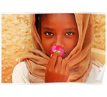 Flower of Peace Poster