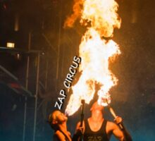 ZAP CIRCUS Fire Breath Sticker