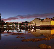 Mosman Bay Boatsheds - Western Australia  by EOS20