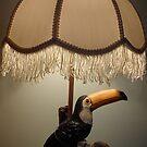Touca Toucan lamp by Alex Gardiner