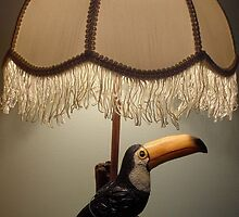 Touca Toucan lamp by Alex Gardiner