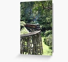 Puffing Billy  Greeting Card