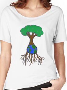 Life on Earth. Women's Relaxed Fit T-Shirt