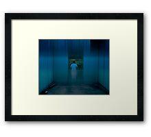 urb reverberation #8 (The Blue Room) Framed Print