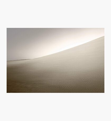 Dusk At The Dunes  Photographic Print