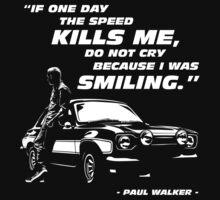 Paul Walker - The Speed by SusanCruz