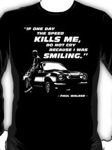 Paul Walker - The Speed T-Shirt