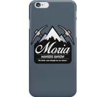 moria mining union iPhone Case/Skin