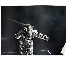 Arcade Fire Concert Effect, photography Reflektor tour 2014 Poster
