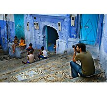 Children of Chaouen Photographic Print