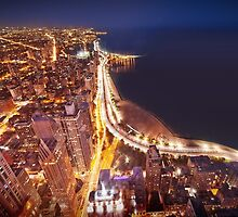 Chicago - Lake Shore Drive  by nickaustwick