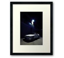 Godzilla at Night..  Framed Print