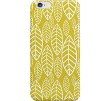 Vector leaf seamless pattern iPhone Case/Skin