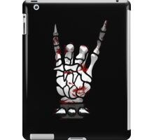 HEAVY METAL HAND SIGN - bloody iPad Case/Skin