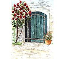 Italian Door Photographic Print
