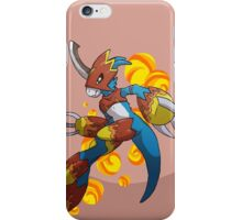 Flamedramon iPhone Case/Skin