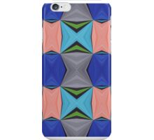 Abstract Mirrored Pattern I iPhone Case/Skin