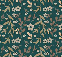 Flowers pattern by julkapulka