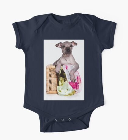 Hairless Dog puppy One Piece - Short Sleeve