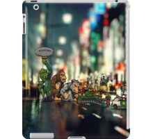 Rampage game - pixel art iPad Case/Skin