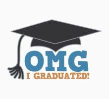 OMG I graduated with mortat board graduation hat by jazzydevil