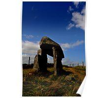 Legananny the pillar stone of Anya Poster