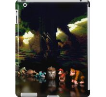 Donkey Kong Country pixel art iPad Case/Skin