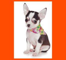 Glamorous chihuahua puppy Kids Tee