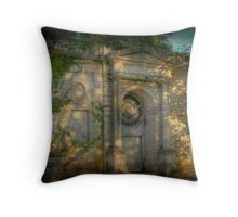 Mausoleum 2 Throw Pillow