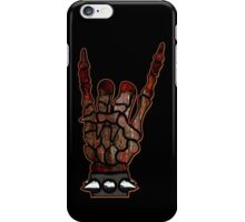HEAVY METAL HAND SIGN - if you want blood, you got it iPhone Case/Skin