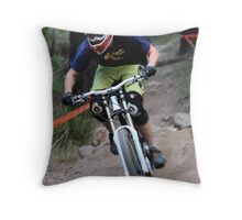2009 NSWMTB State Down Hill Championships - Lithgow Throw Pillow