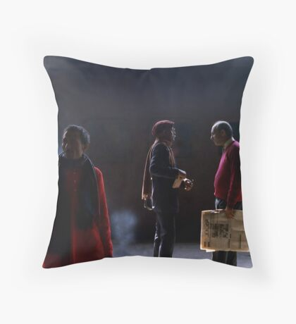 DAILY COMMUTERS Throw Pillow